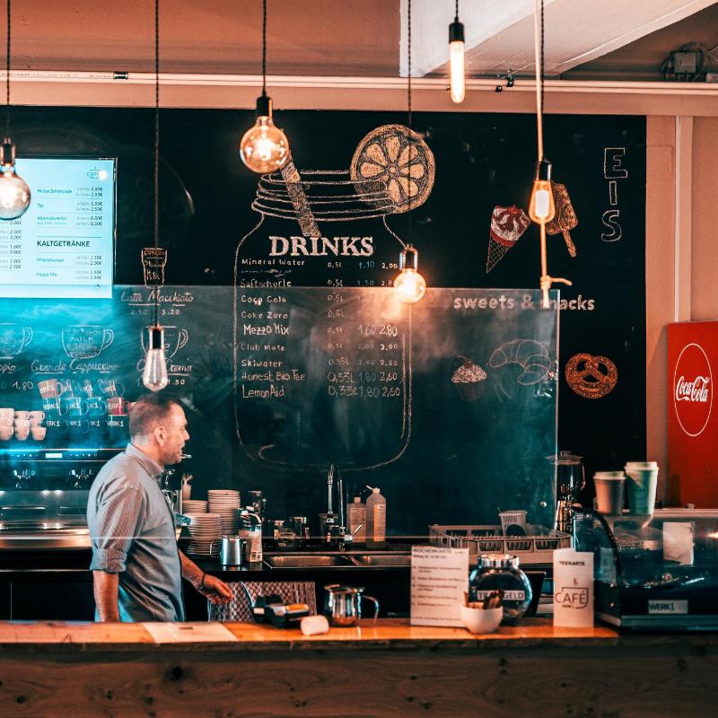 Das WERK1 Café