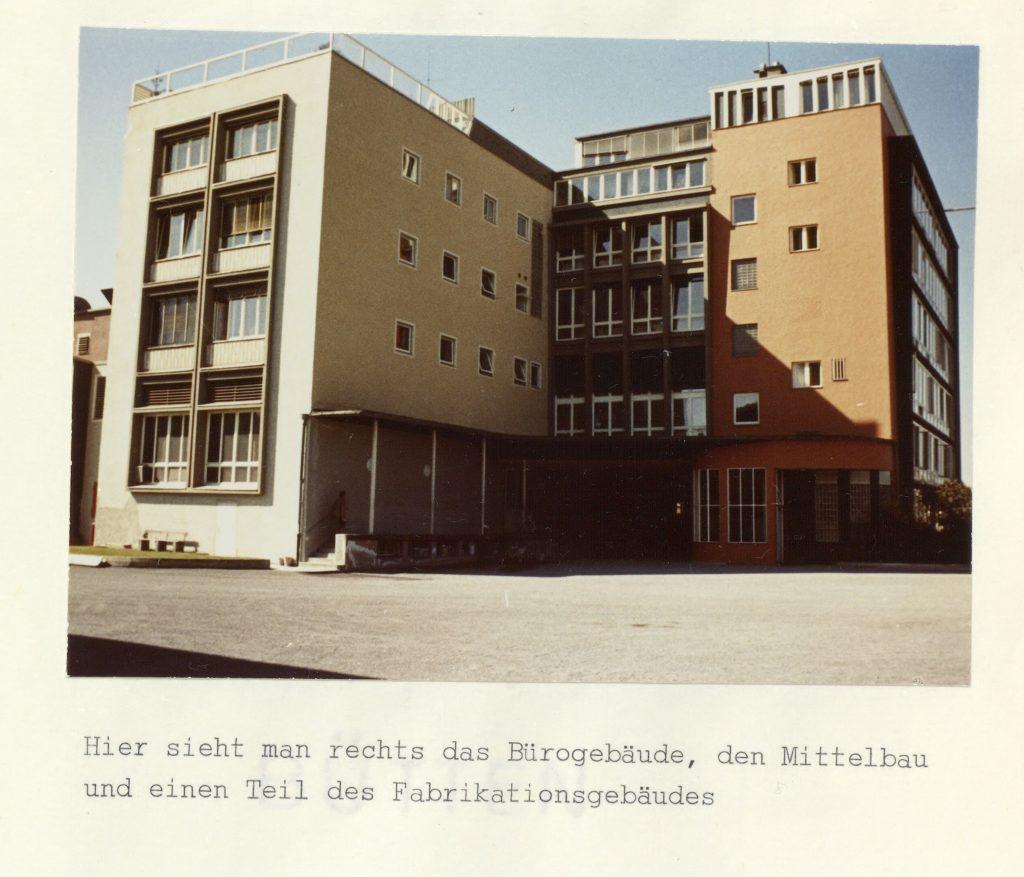1964 Werk1 Aussenansicht