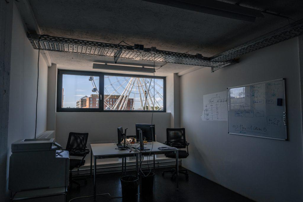 Startup Office mit Ausblick