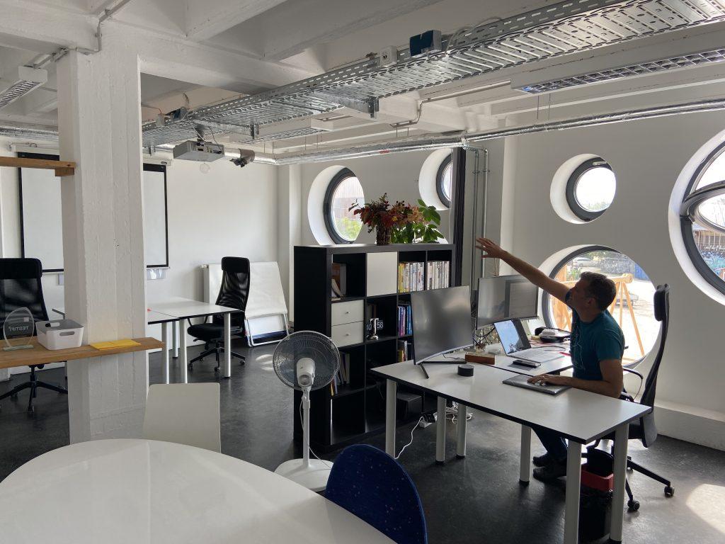 Startup Inkubator Büro