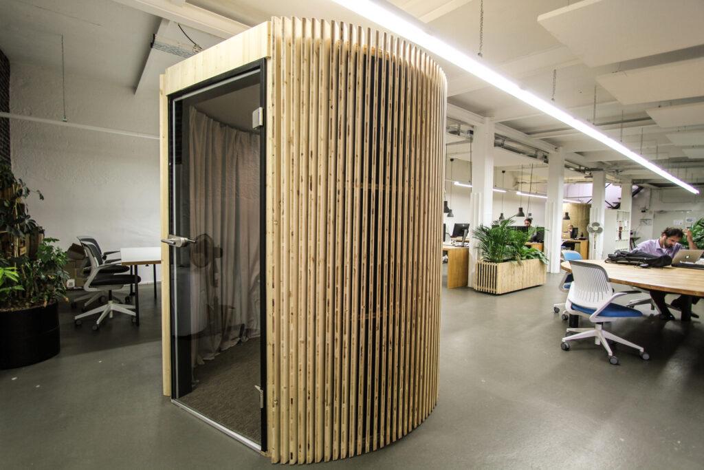 Impression Silent Space Coworking Telefonbox