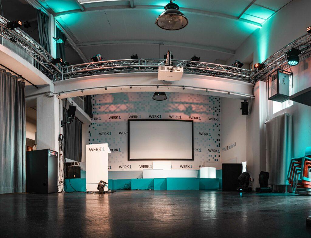 Bild Eventspace Bühne