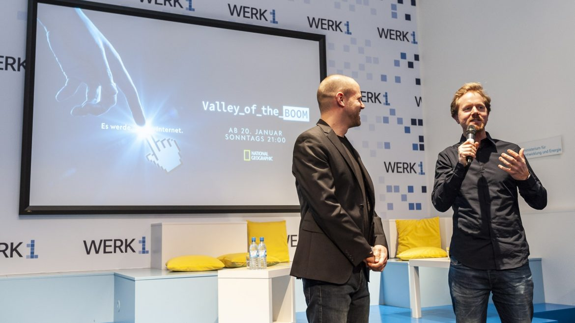 """Valley of the Boom"" Premierenscreening im WERK1 mit anschließendem Panel"