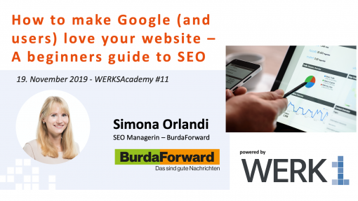 Event A beginners guide to SEO